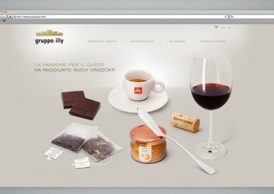 SITO WEB GRUPPO ILLY